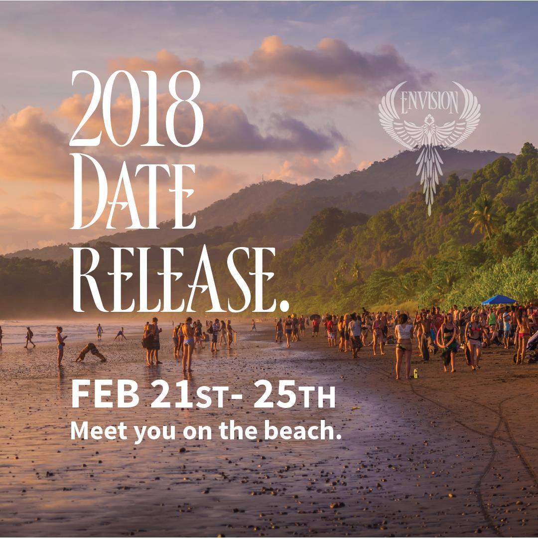 2018 envision festival dates